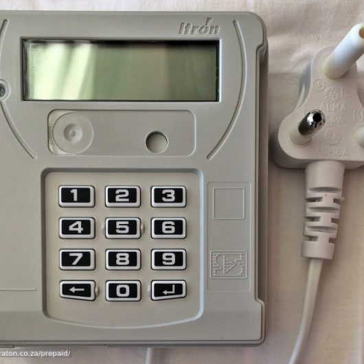 DIN Rail Mount Keypad