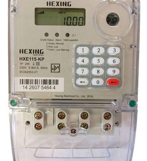 Hexing Prepaid Electricity Meter