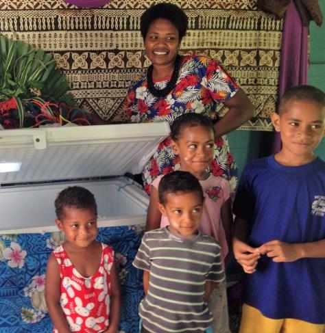 Solar PV refrigerations system in Mali
