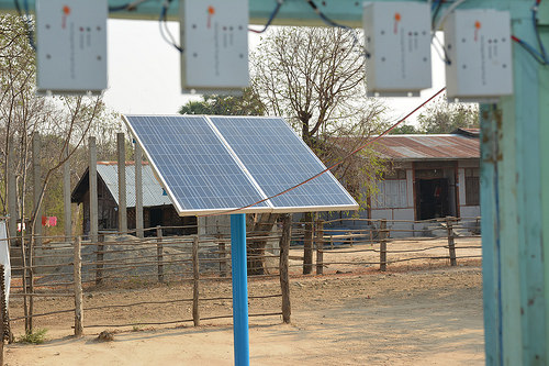 Solar Pv Kyat Tel Village Image